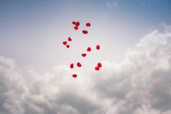 Hochzeitsfotos Dresden blaues Wunder Luftballons Hochzeitsfotograf